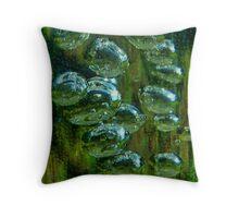 Swamp Gas Throw Pillow