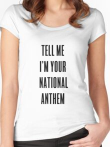 National Anthem Women's Fitted Scoop T-Shirt