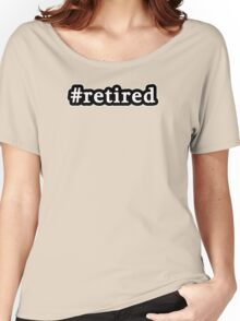 Retired - Hashtag - Black & White Women's Relaxed Fit T-Shirt