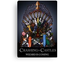 A Crashing of Castles Canvas Print