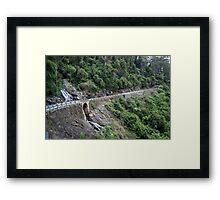 Waterfall Way Framed Print