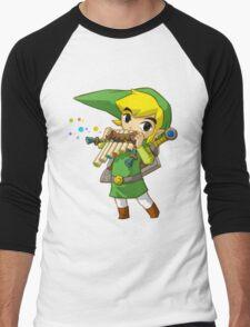 Link  Men's Baseball ¾ T-Shirt