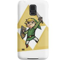Link with Triforce Samsung Galaxy Case/Skin