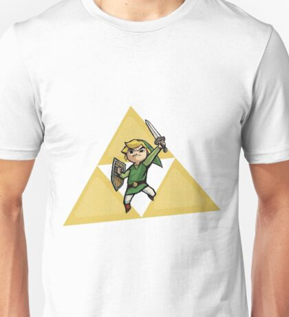 Link with Triforce Unisex T-Shirt