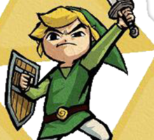Link with Triforce Sticker