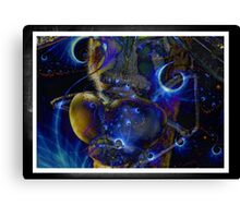 The Alien Canvas Print