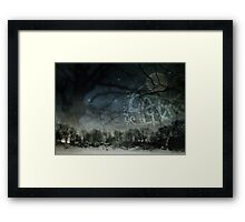 """""""As Winter Fell"""" Framed Print"""