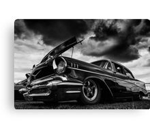 Mean & Moody Canvas Print