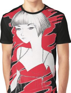 Asian Girl Graphic T-Shirt