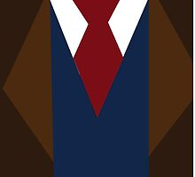 Doctor Who David Tennant Suit and Tie by Katie Thomas
