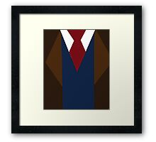Doctor Who David Tennant Suit and Tie Framed Print