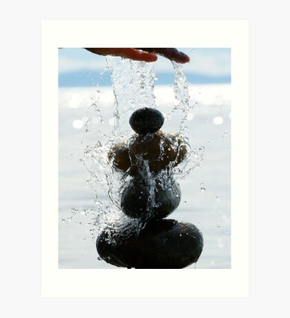 Caring for Cairns  Art Print
