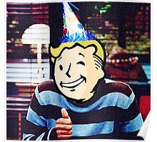 Vault Boy Birthday Poster