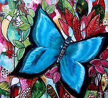 'Blue Butterfly' by Rachel Ireland-Meyers