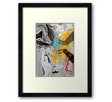 mirrored pools of thought Framed Print
