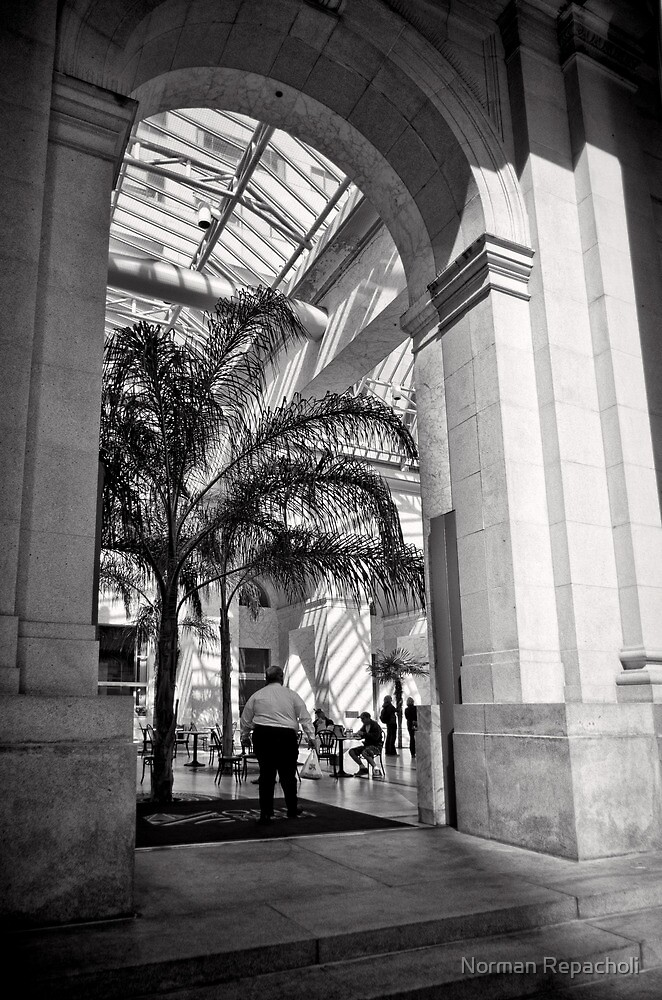 Marble Arch - San Francisco by Norman Repacholi