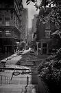 A view down Maiden Lane - San Francisco by Norman Repacholi