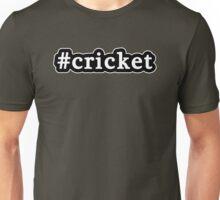 Cricket - Hashtag - Black & White Unisex T-Shirt