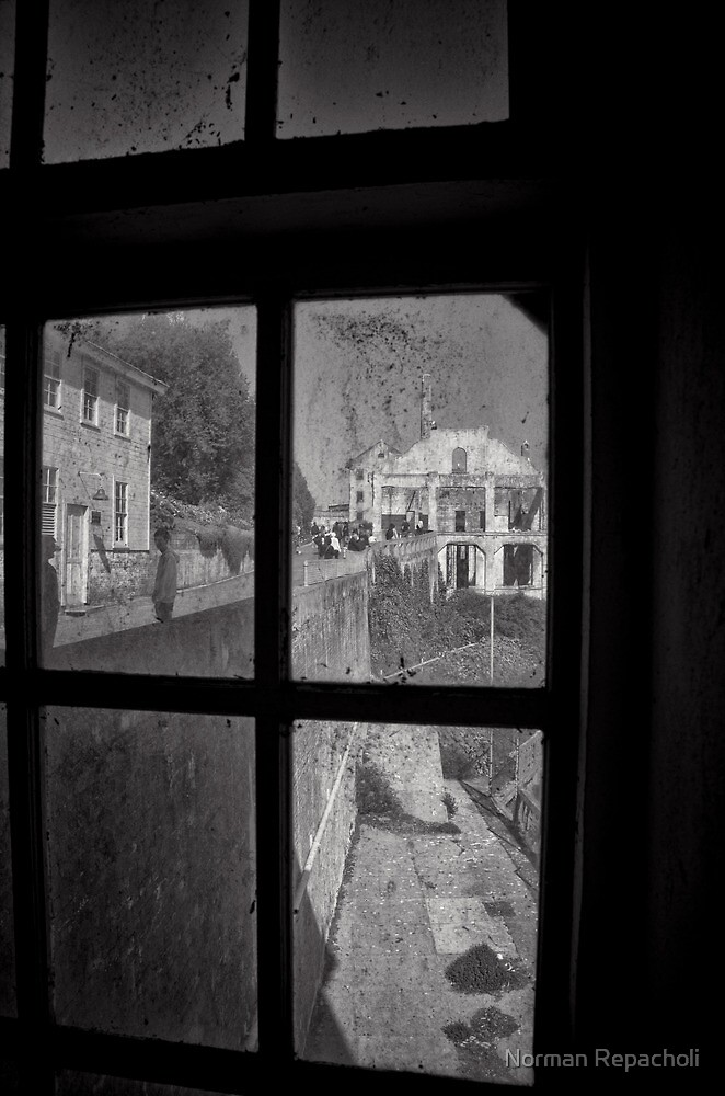 Bleak Perspective - Alcatraz San Francisco by Norman Repacholi