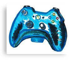 Blue Xbox Controller Canvas Print