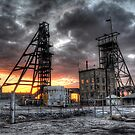 South Mine Sunrise by Rod Wilkinson