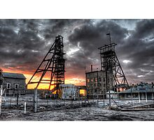South Mine Sunrise Photographic Print