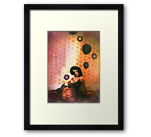 relax, this is normal Framed Print