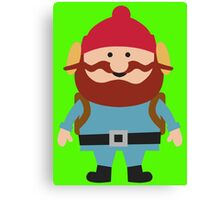 Hipster elf Canvas Print