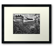 A Tribute To The Dam Busters Framed Print