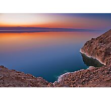 Dead Sea Sunset Photographic Print