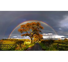 Double Rainbow Photographic Print