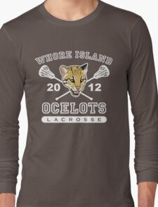 Go Ocelots! (White Fill) Long Sleeve T-Shirt