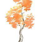 Little Zen Tree 763 by Sean Seal
