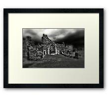 Hastings Castle  Framed Print