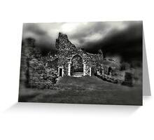 Hastings Castle  Greeting Card