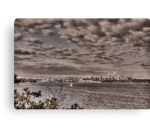 Sydney from Camp Cove Canvas Print