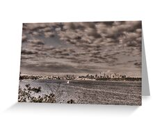 Sydney from Camp Cove Greeting Card