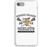 Go Ocelots! (Black Fill) iPhone Case/Skin