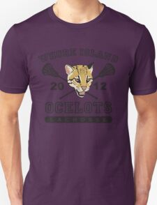 Go Ocelots! (Black Fill) T-Shirt