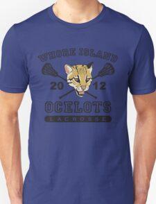 Go Ocelots! (Black Fill) T-Shirt