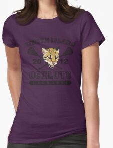 Go Ocelots! (Black Fill) Womens T-Shirt