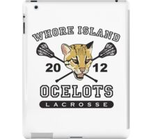 Go Ocelots! (Black Fill) iPad Case/Skin