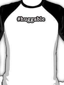Huggable - Hashtag - Black & White T-Shirt
