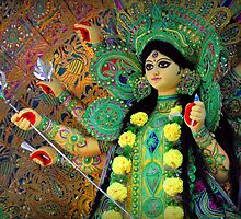 The Goddess Durga by Soma Debnath