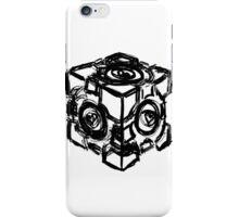 Companion Cube Rattmann Style iPhone Case/Skin