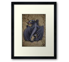Train your Dragon! Framed Print