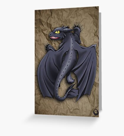 Train your Dragon! Greeting Card