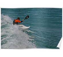 Surfing Lake Michigan 10 Poster