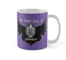 My Blood Type Is Stefan Purple & Black VD Fan Logo Mug