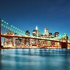 Brooklyn bridge, Awesome look, Large Wide Fine Art Print by fine-art-prints